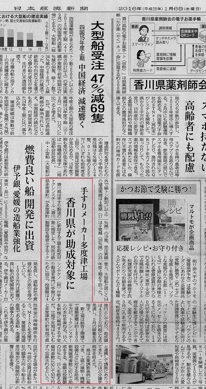 日経新聞スチール